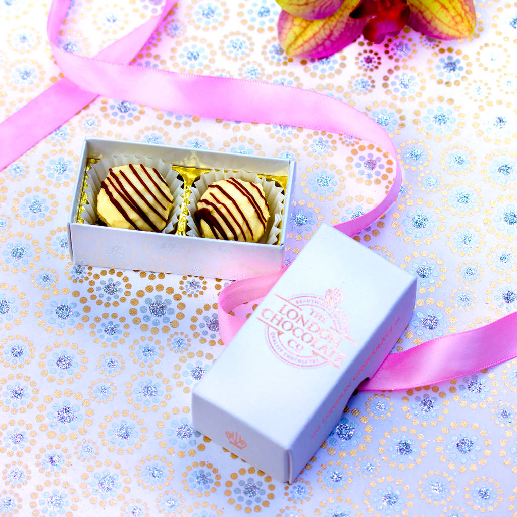 Wedding Gifts London: Gin And Tonic Chocolate Wedding Favour By The London