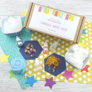 Personalised Soap Making Craft Kit For Children - creative activities