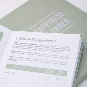 100 Day Happiness Planner - just because gifts