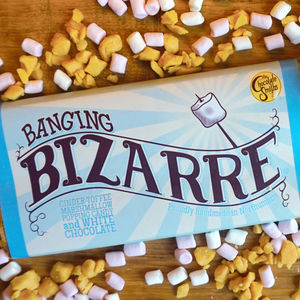 Banging Popping Candy White Chocolate Bizarre Bar - chocolates & confectionery