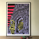 Limited Edition Print The Corpus Clock Cambridge