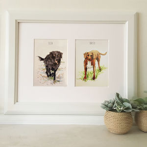 Bespoke Pet Portraits - canvas prints & art