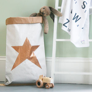 Star Toy Storage Bag - storage & organisers