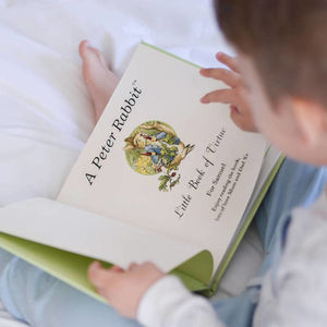 A Personalised Collection Of Four Peter Rabbit Books