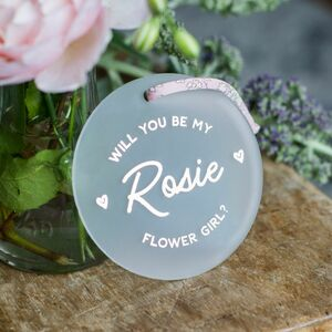 Will You Be My Flower Girl Proposal Keepsake