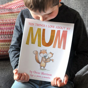 Reasons Why I Love You Childrens Book - best mother's day gifts