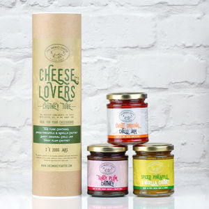 Cheese Lovers Chutney Tube Gift Set