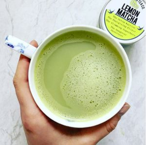 Lemon Matcha Green Tea Superfood - teas, coffees & infusions
