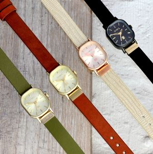Stratford Leather Strap Watch - watches