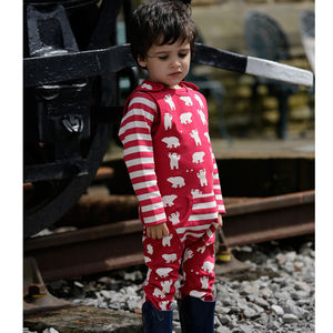 Polar Bear Kids Dungarees - clothing