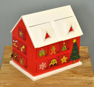 Gingerbread House Advent Calendar - garden furniture