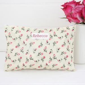 Oilcloth Personalised Make Up Bag - make-up & wash bags