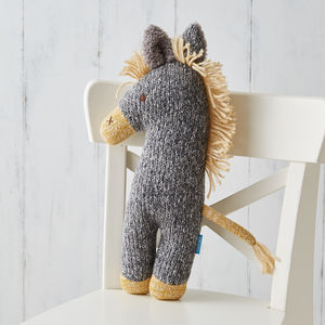 Farmyard Friends Soft Knit Toy - sale