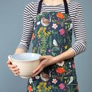 Ladybird And Wren Baking Apron