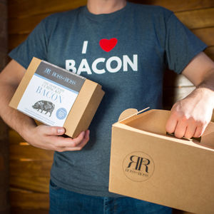 I Heart Bacon Tshirt And Make Your Own Bacon Gift Set