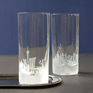 Las Vegas Tumbler And Highball Glasses
