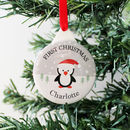 Baby's First Christmas Personalised Decoration