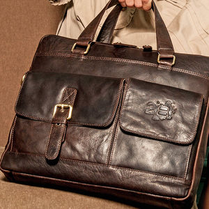 Luxury Leather Laptop Bag