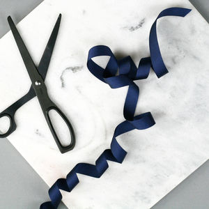 Navy Grosgrain Ribbon - ribbon & wrap