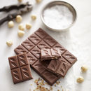 Hazelnut And Sea Salt Milk 41% Chocolate Bar