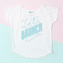 'Let's Brunch' Women's Loose Fit T Shirt - fashion