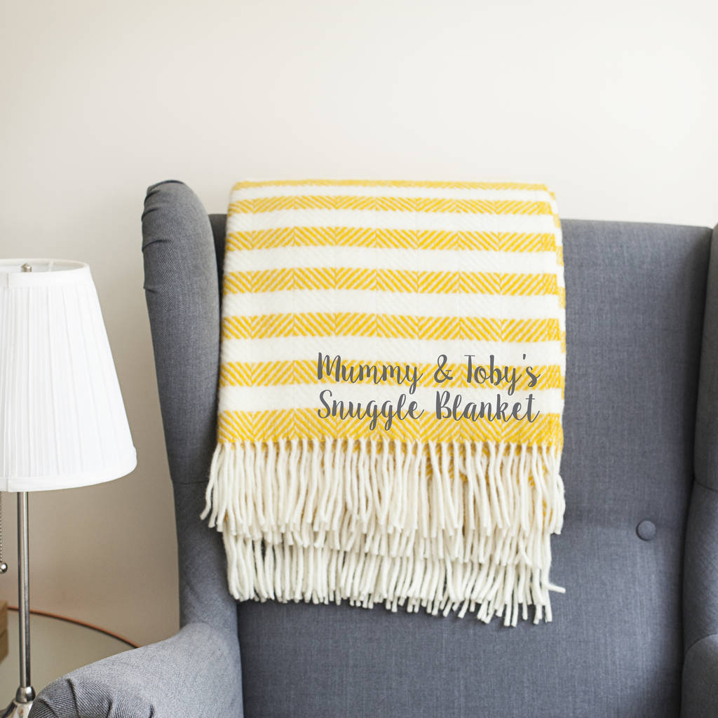 Personalised Mother's Day Blanket
