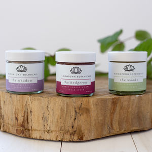 Gift Wrapped Mini Sugar Scrub Trio, Vegan Cruelty Free - skin care