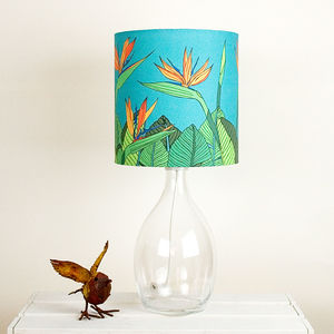 Tropical Bird Of Paradise Flower Stand Lamphade - lampshades