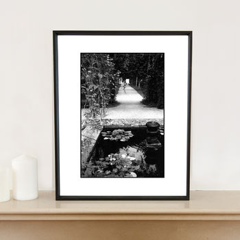 Chateau Champs De Bataille, France Art Print