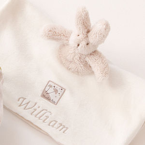 Personalised Embroidered Comforter For Baby Boy - gifts for babies