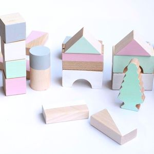 Spring Tone Wooden Blocks - baby toys