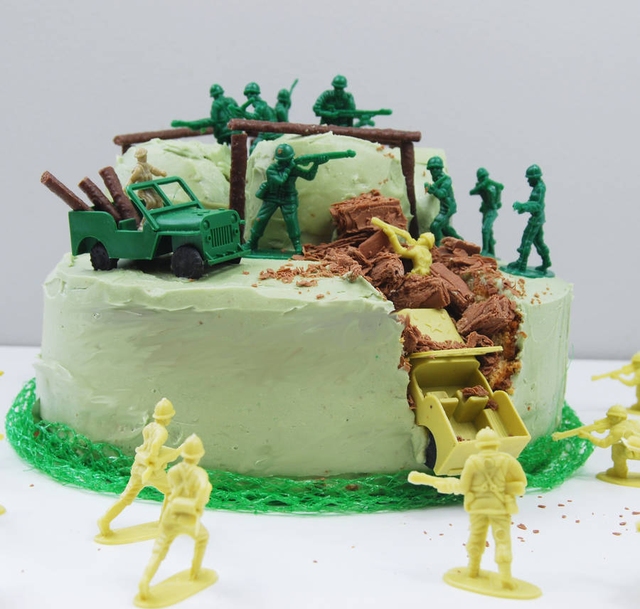 Army Birthday Cake Kit By Craft Amp Crumb