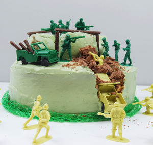 Army Birthday Cake Kit - children's birthday