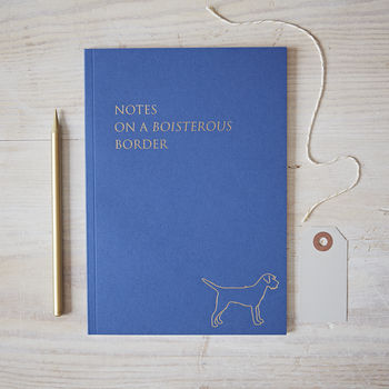 Border Terrier Notebook