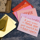 Little Box Of Affection Note Cards