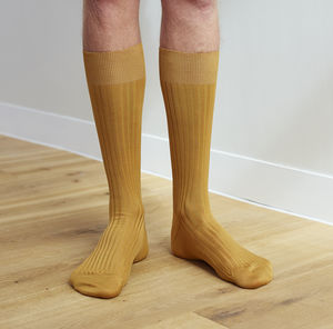 Ribbed Egyptian Cotton Socks - underwear & socks