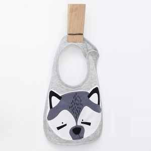 Raccoon Face Bib - baby care