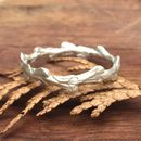 Cypress Leaf Band Ring