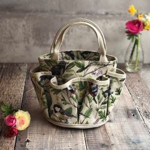 Wild Birds Gardening Bag - tools & equipment