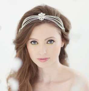 Roxy Bridal Headdress - wedding fashion