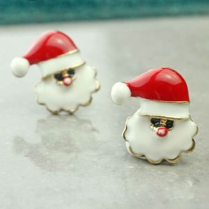 Santa Claus Stud Earrings - last chance to buy jewellery