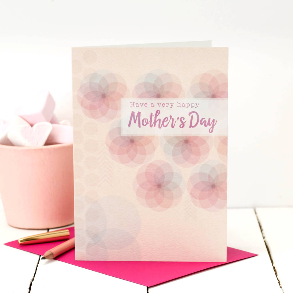 Have A Very Happy Mother's Day Card