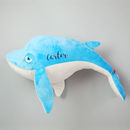 Personalised Whale Soft Toy