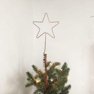 Star Wire Tree Topper - tree toppers