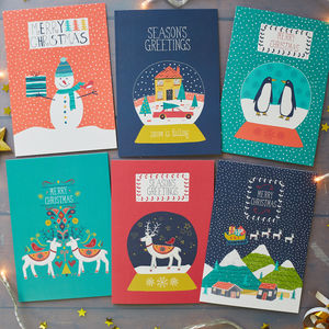 Winter Wonderland Christmas Card Pack - cards