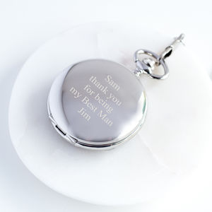 Personalised Pocket Watch - watches