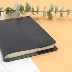 Personalised Italian Leather Notebook/Journal