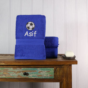 Kids Football Towel - birthday gifts for children