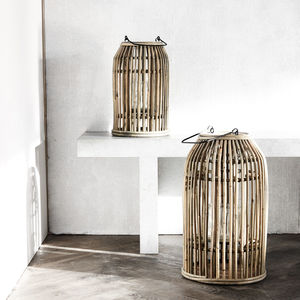 Rattan Lantern - lighting