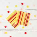 Summer Striped Paper Napkins